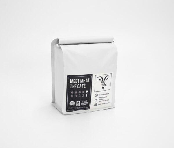 MEET ME AT THE CAFÉ Coffee | Dark Roast | South America & Ethiopia